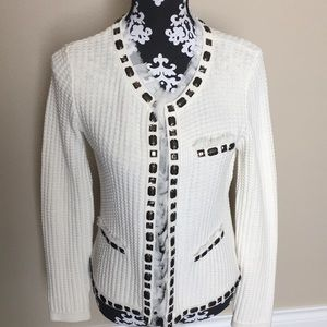 CABI Chanel style sweater